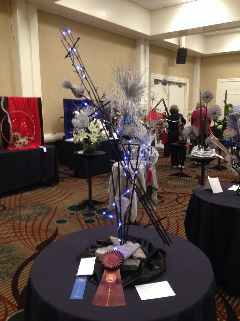 """Design at WSFGC Flower Show """"Starry Starry Night"""" 11/2015"""