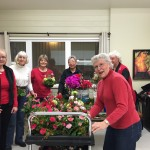 Valentine Centerpieces  IC&RC Garden Therapy 2/2016