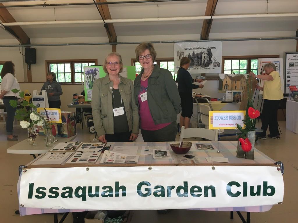 Issaquah Volunteer Fair 5/20/2017