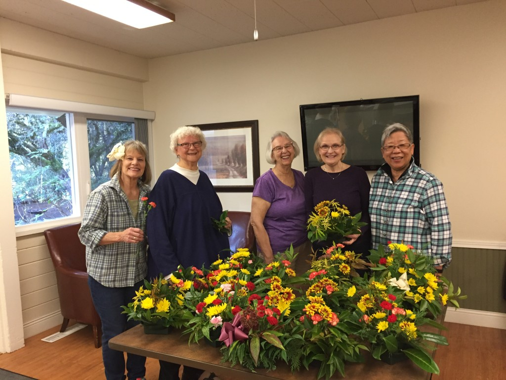 Thanksgiving Garden Therapy 2018