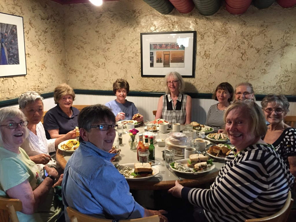Maltby Cafe lunch after Nursery Tour July 2018